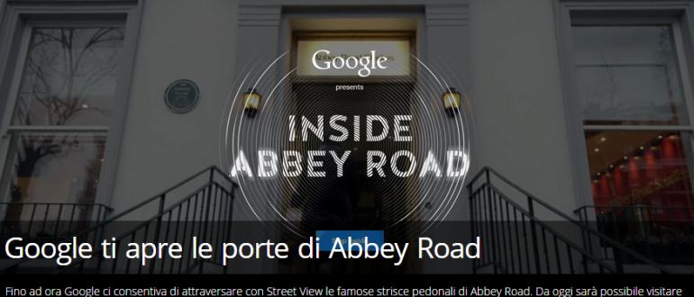 Google Abbey Road