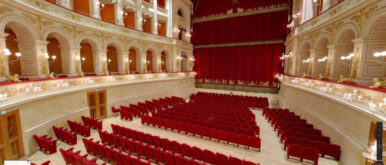 Teatro amintore galli rimini street view